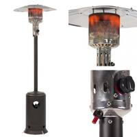 Patio Heater Mocha Garden Outdoor Heater Propane Standing LP Gas
