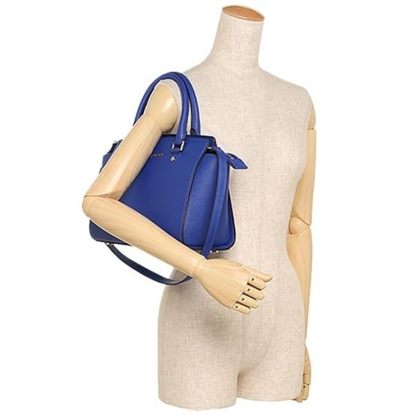 aada5a808879 ... Michael Kors Selma Medium Saffiano Electric Blue Leather Satchel