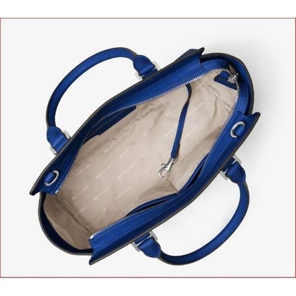 e766f2d79950 ... Michael Kors Selma Medium Saffiano Electric Blue Leather Satchel ...