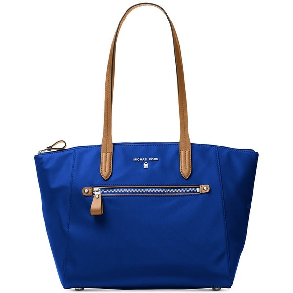 Michael Kors Tote Bag On Sale, Electric Blue, Leather, 2017, one size