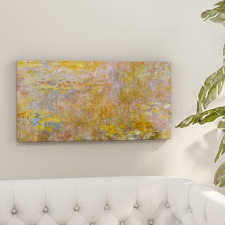 Copper Grove Claude Monet 'Water Lily 2' Canvas Wall Art