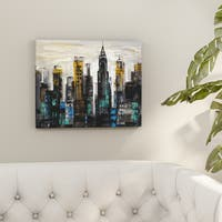 Porch & Den Silvia Vassileva 'New York Moment' Canvas Wall Art
