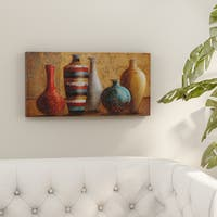 Porch & Den Janet Tava 'Vessels of Tabuk' Canvas Wall Art