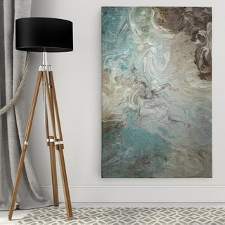 Porch & Den 'Aqua Marble' Premium Gallery Wrapped Canvas