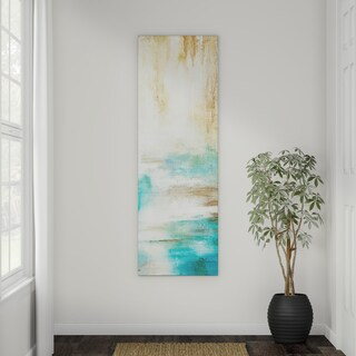 Strick & Bolton Misty View II Gallery-wrapped Canvas Wall Art