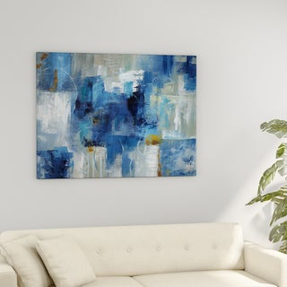 Porch U0026 Den U0027Blue Morningu0027 Premium Gallery Wrapped Canvas ...