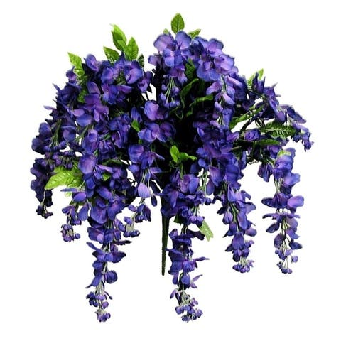 15 Wisteria Flower Stems