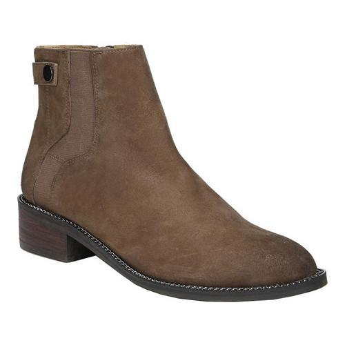 a7a9a1d9269d Shop Women s Franco Sarto Brandy Ankle Bootie Mushroom Ranch Leather - Free  Shipping Today - Overstock.com - 19483509