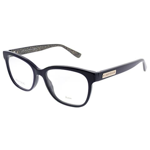 Jimmy Choo Square JC 109 EN9 Women Blue Frame Eyeglasses