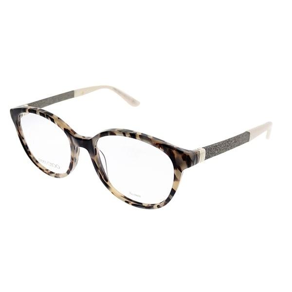 2393a920df5 Jimmy Choo Round JC 118 VUV Women Light Tortoise Frame Eyeglasses