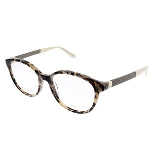 Jimmy Choo Round JC 118 VUV Women Light Tortoise Frame Eyeglasses