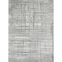 Momeni Matrix Herning Grey Abstract Area Rug (5' x 7'6)