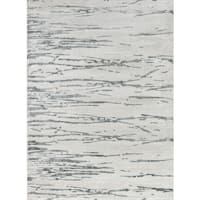 "Momeni Matrix Vallejo Grey/ Ivory Abstract Area Rug - 7'6"" X 9'6"""
