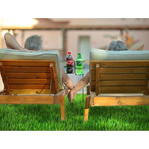 Sorbus® Outdoor Beverage/Drink Holder Stakes, Set of 4