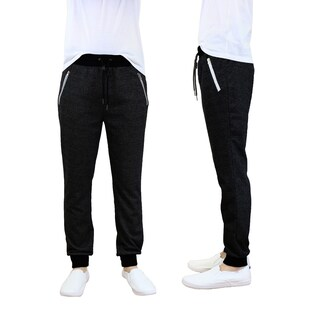 Galaxy By Harvic Men's French Terry Jogger Lounge Sweatpants (More options available)