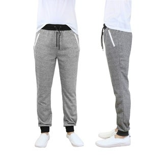 Galaxy By Harvic Men's French Terry Jogger Lounge Sweatpants
