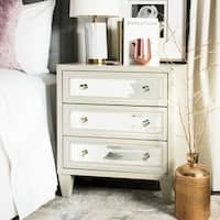 Safavieh Marlon 3-Drawer Titanium Storage Chest