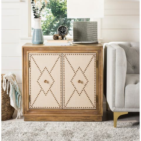Safavieh Erin 2-Door Oak Storage Chest
