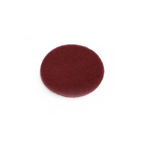 1 Scouring Pad Attachment for the Prolux Proshine Scrubber Buffer Mop - Red