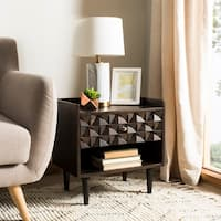 Safavieh Zinnia Walnut Nightstand