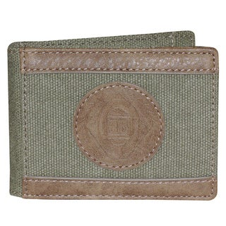 Eagle Wings Slimfold Wallet with Clip (Option: Grey)