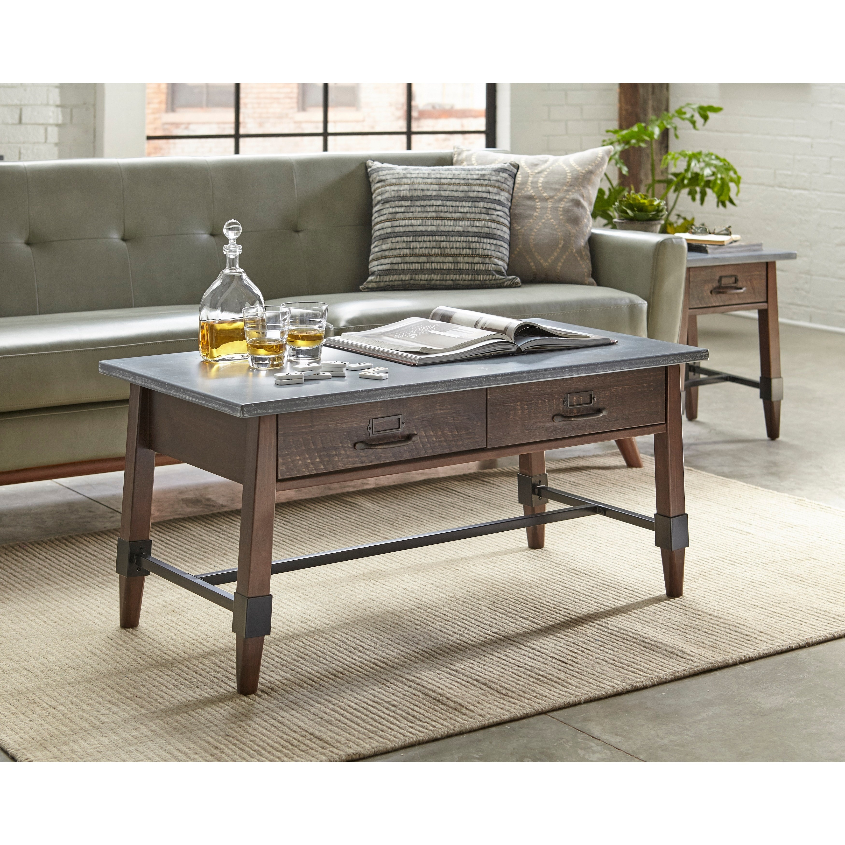 - Shop Simple Living Clint Coffee Table - Overstock - 19484774