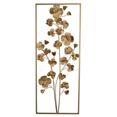 Ashlyn Gold Iron Tree Wall Decor