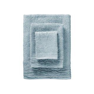Pleated Turkish Cotton 6-piece Towel Set