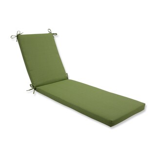 Pillow Perfect Outdoor/Indoor Forsyth Kiwi Chaise Lounge Cushion 80x23x3