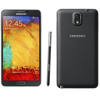 Samsung Galaxy Note 3 SM-N900 32GB White AT&T UNLOCKED (New Open Box) - black