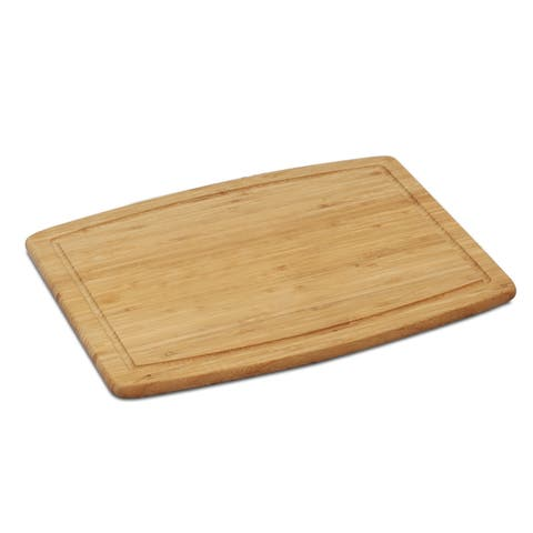 Furinno DaPur Bamboo Cutting Board with Drip Groove, FK8509