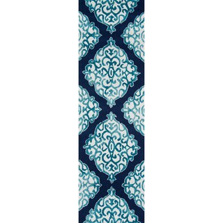 """Hand-Hooked Augusta Polyester Rug (2'3 x 7'6) - 2'3"""" x 7'6"""""""