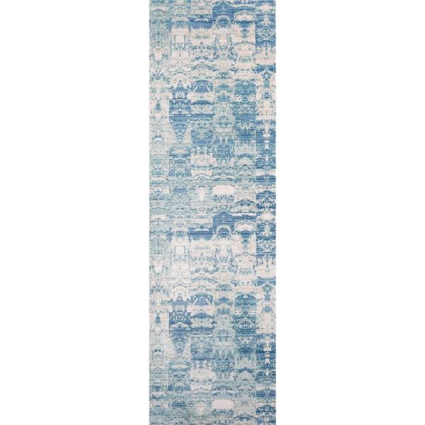 Machine Made Harlow Truett Polyester Rug 2 3 X 8 2 3 X 8