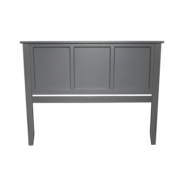 Madison Headboard Queen Atlantic Grey