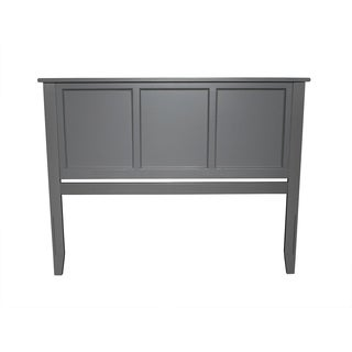 Atlantic Furniture Madison Atlantic Grey Wood Queen-size Headboard