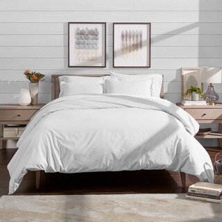 Duvet Insert + Duvet Cover Set - Premium 1800 Down Alternative Ultra-Soft Brushed Microfiber