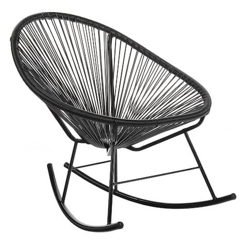Handmade Acapulco Papasan Rocking Chair