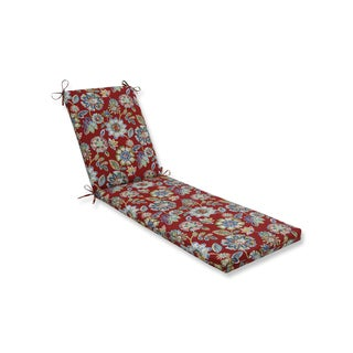Pillow Perfect Outdoor/Indoor Daelyn Cherry Chaise Lounge Cushion 80x23x3