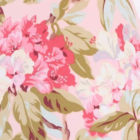 Cotton Tale Tea Party Floral Reversible 8 PC Full/Queen Quilt Bedding
