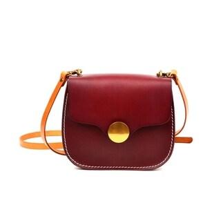 Sienna Saddle Bag (Option: Brown)