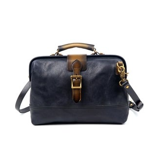 Positano Doctor Bag (Option: Brown)