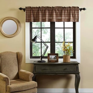 Crosswoods Lined Valance
