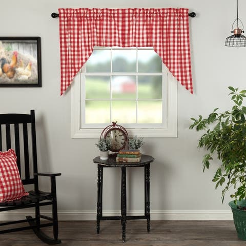 Buy Red 36 Inches Curtains Amp Drapes Online At Overstock