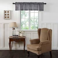 Annie Buffalo Check Lined Valance