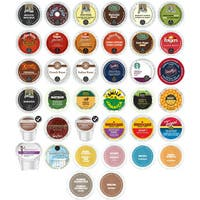 Exotic, Bold and Decaf Coffee and Hot Chocolate Top Seller Variety K-Cup and RealCup Portion Pack for Keurig Brewers, 38 Count