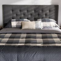 Contemporary Fabric Headboard by Baxton Studio