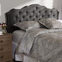Silver Orchid Heston Fabric Headboard
