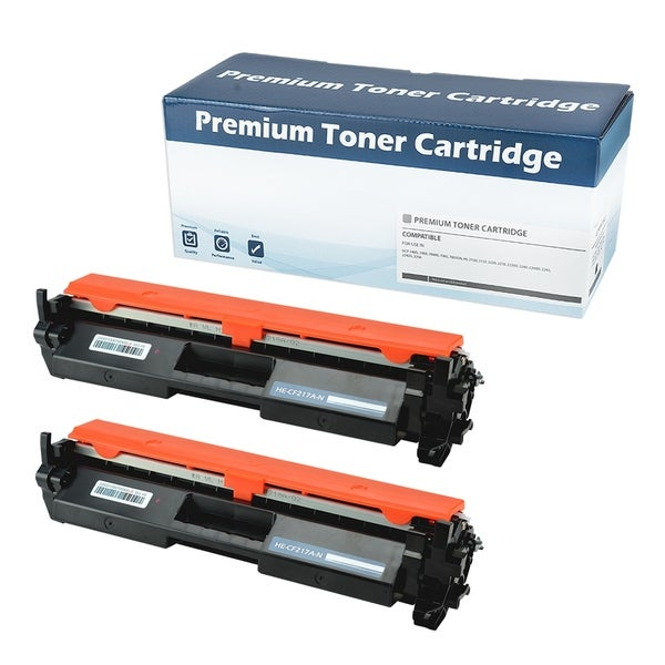 HP 17A (CF217A)Compatible Toner Cartridge (Black)(WITH CHIP)Set of 2