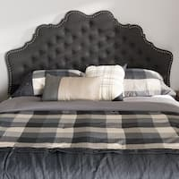 Silver Orchid Heston Contemporary Fabric Headboard