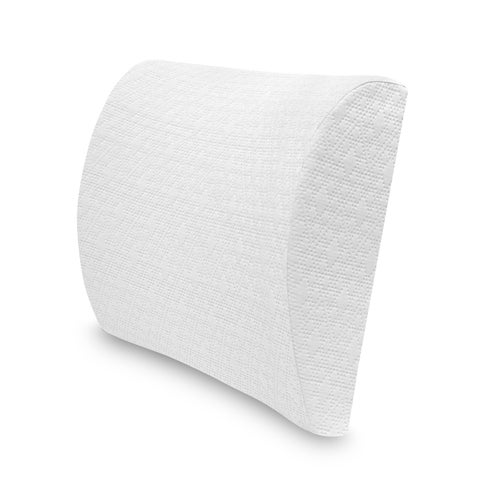 SwissLux Lumbar Memory Foam Accessory Pillow
